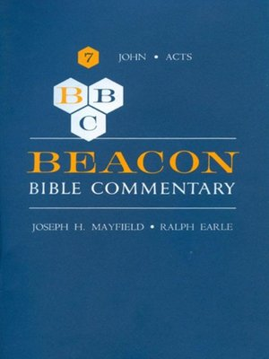 cover image of Beacon Bible Commentary, Volume 7