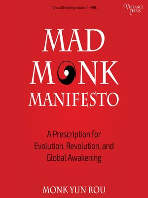 cover image of Mad Monk Manifesto