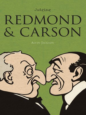 cover image of Judging Redmond and Carson