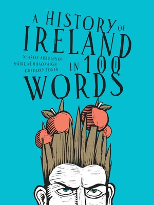 cover image of A history of Ireland in 100 words