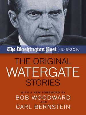 cover image of The Original Watergate Stories