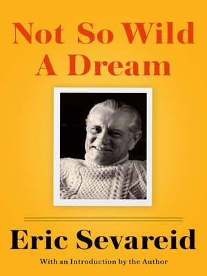 cover image of Not So Wild a Dream