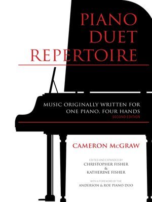 cover image of Piano Duet Repertoire