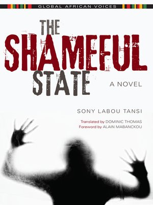 cover image of The Shameful State