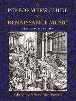 cover image of A Performer's Guide to Renaissance Music
