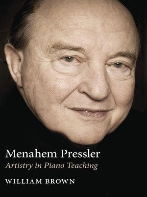 cover image of Menahem Pressler