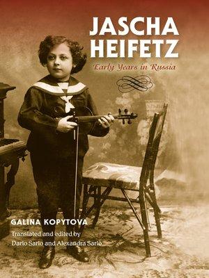cover image of Jascha Heifetz