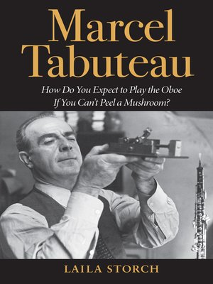 cover image of Marcel Tabuteau