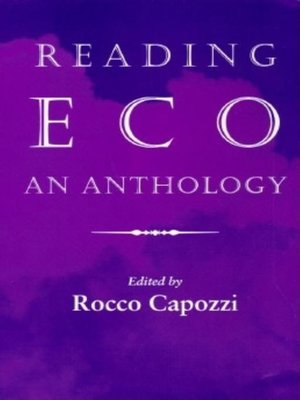 cover image of Reading Eco