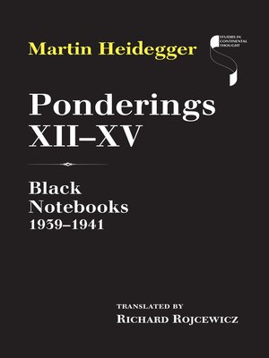 cover image of Ponderings XII–XV