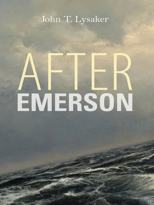 cover image of After Emerson