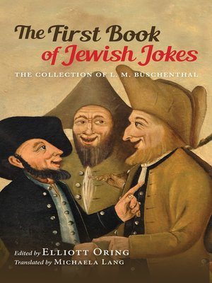 cover image of The First Book of Jewish Jokes