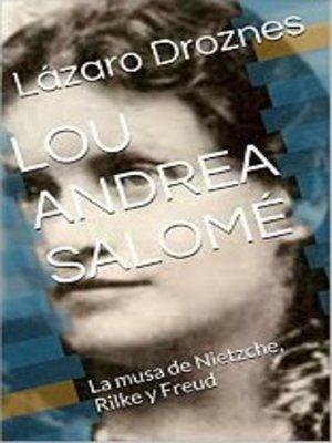 cover image of Lou Andrea Salomé