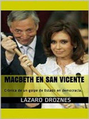cover image of Macbeth en San Vicente