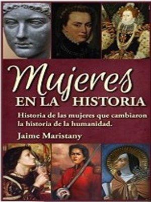 cover image of Mujeres en la Historia