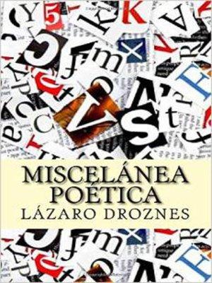 cover image of Miscelánea Poética