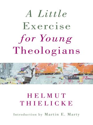 cover image of A Little Exercise for Young Theologians