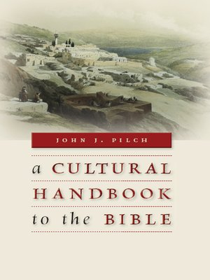 cover image of A Cultural Handbook to the Bible