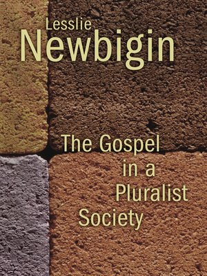 cover image of The Gospel in a Pluralist Society