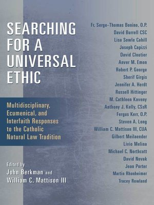 cover image of Searching for a Universal Ethic