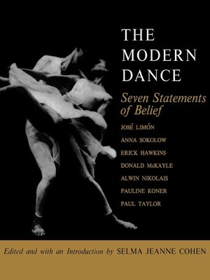 cover image of The Modern Dance
