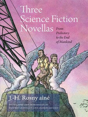 cover image of Three Science Fiction Novellas