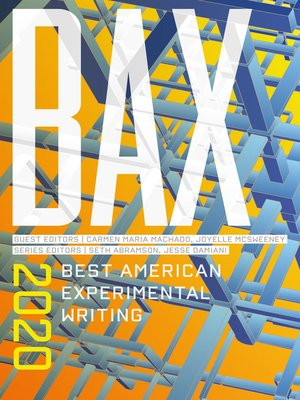 cover image of BAX 2020