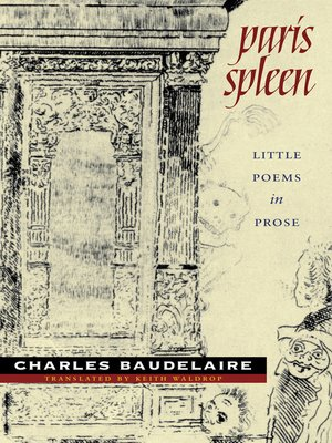 cover image of Paris Spleen