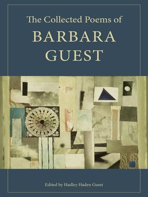 cover image of The Collected Poems of Barbara Guest