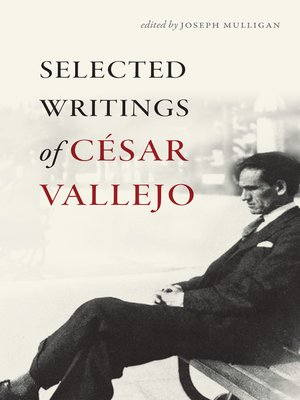 cover image of Selected Writings of César Vallejo