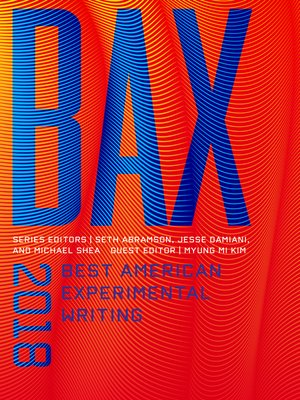 cover image of BAX 2018