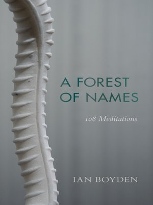 cover image of A Forest of Names