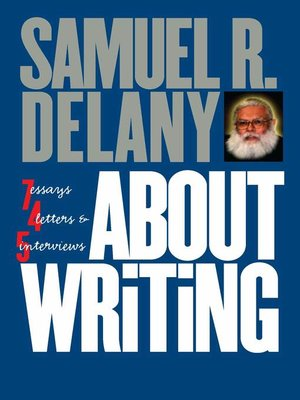 cover image of About Writing