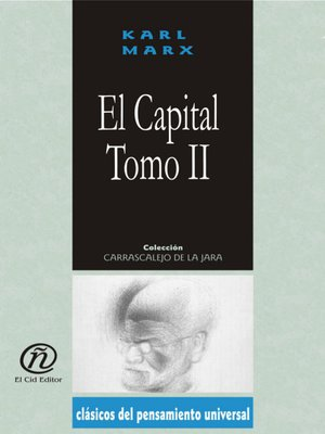 cover image of El capital, Tomo 2
