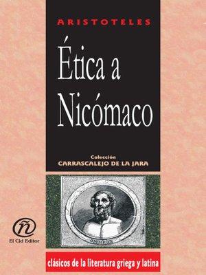 cover image of Ética a Nicómaco