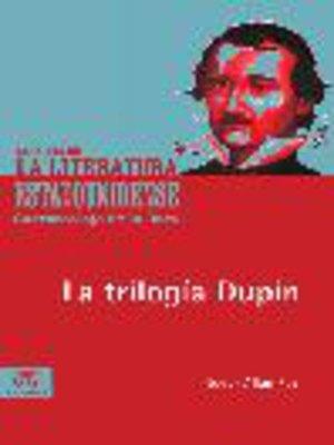 cover image of La trilogía Dupin