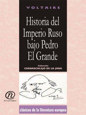cover image of Historia del Imperio Ruso bajo Pedro El Grande