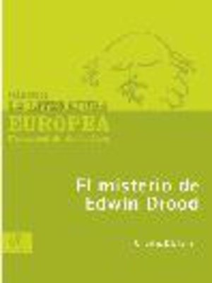 cover image of El misterio de Edwin Drood