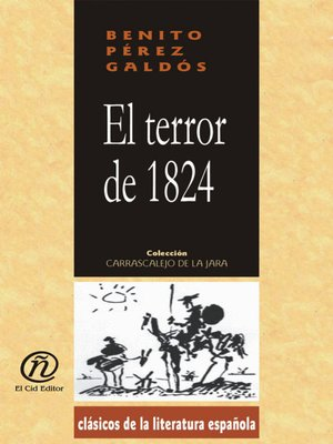 cover image of El terror de 1824