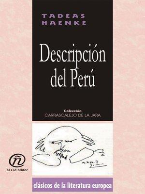 cover image of Descripción del Perú