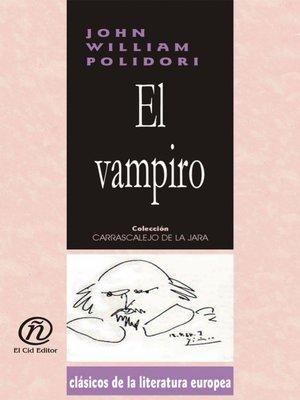 cover image of El vampiro