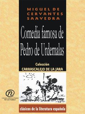 cover image of Comedia Famosa de Pedro de Urdemalas