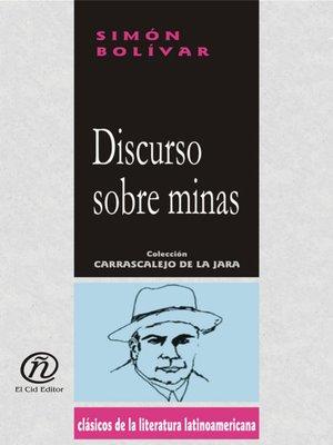 cover image of Discurso Sobre Minas