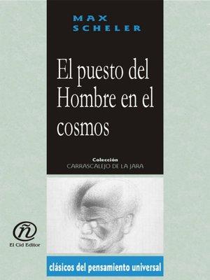 cover image of El puesto del hombre en el cosmos