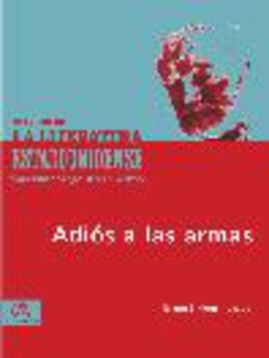 cover image of Adiós a las armas