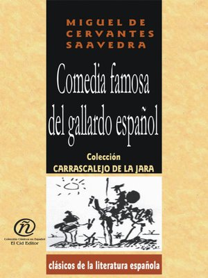 cover image of Comedia Famosa del Gallardo Español