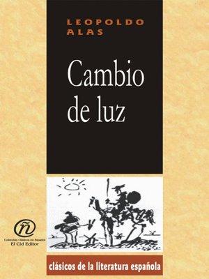 cover image of Cambio de Luz