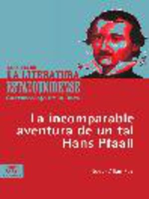 cover image of La incomparable aventura de un tal Hans Pfaall