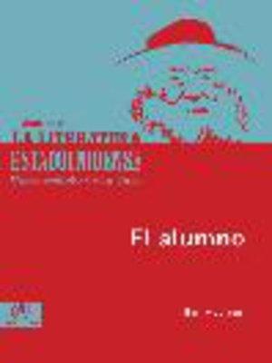 cover image of El alumno