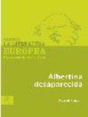 cover image of Albertina desaparecida